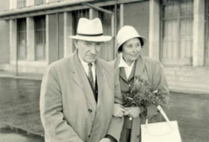 Зиновій Лисько з дружиною. Фото з https://uk.wikipedia.org