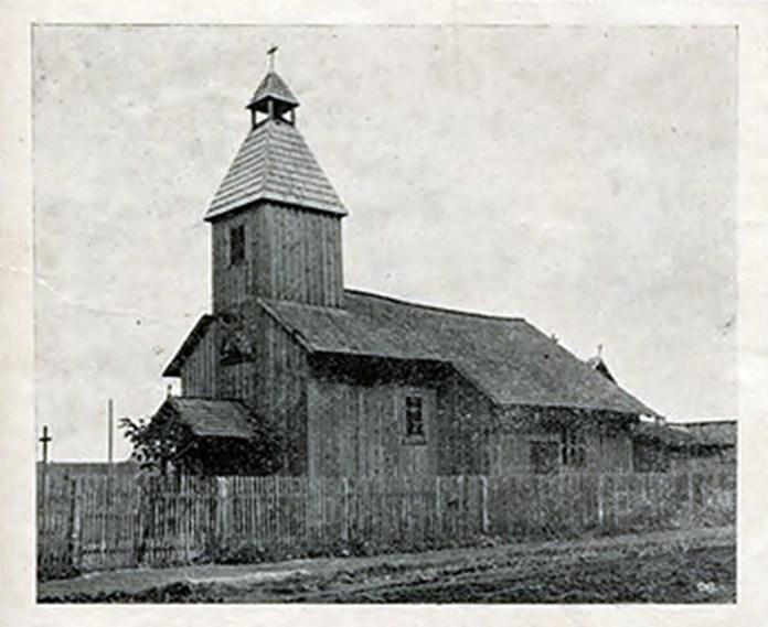 Церква Св. Андрія і Володимира на Богданівці, збудована у 1918 р.