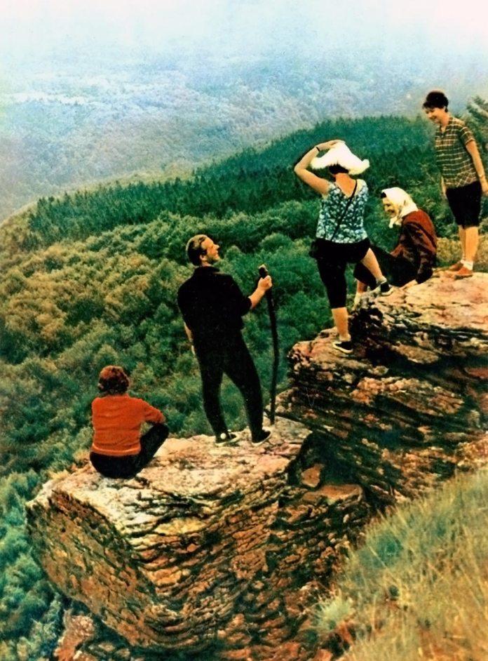 На карпатських полонинах. Фотограф Микола Федорович Козловський.