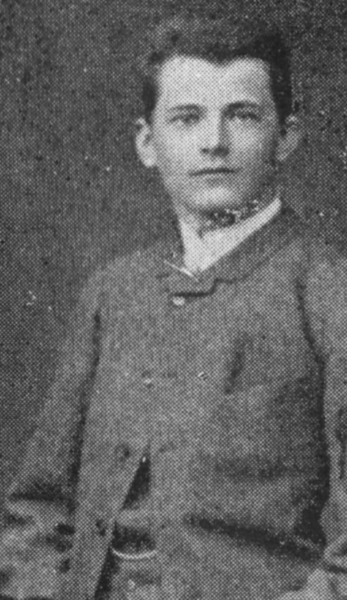 Казимир граф Шептицький — пізніший свщм. Климентій. Фото зроблене у студентські роки.