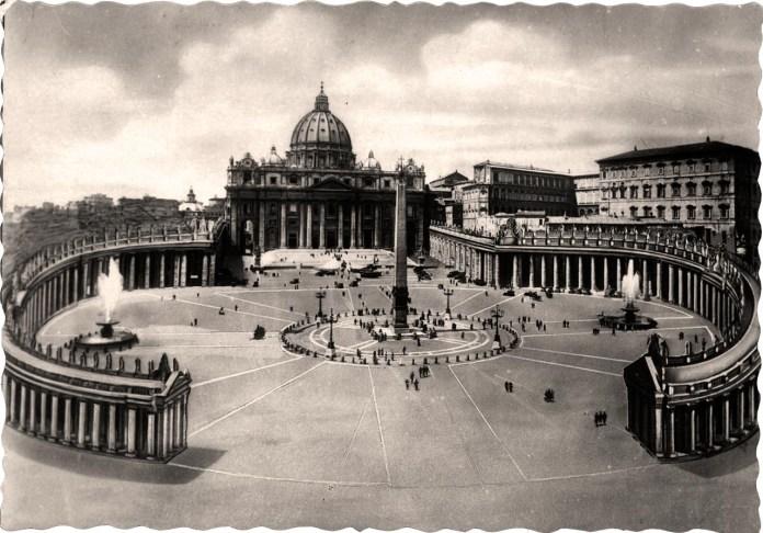 Рим. Площа Святого Петра. Поч. ХХ століття