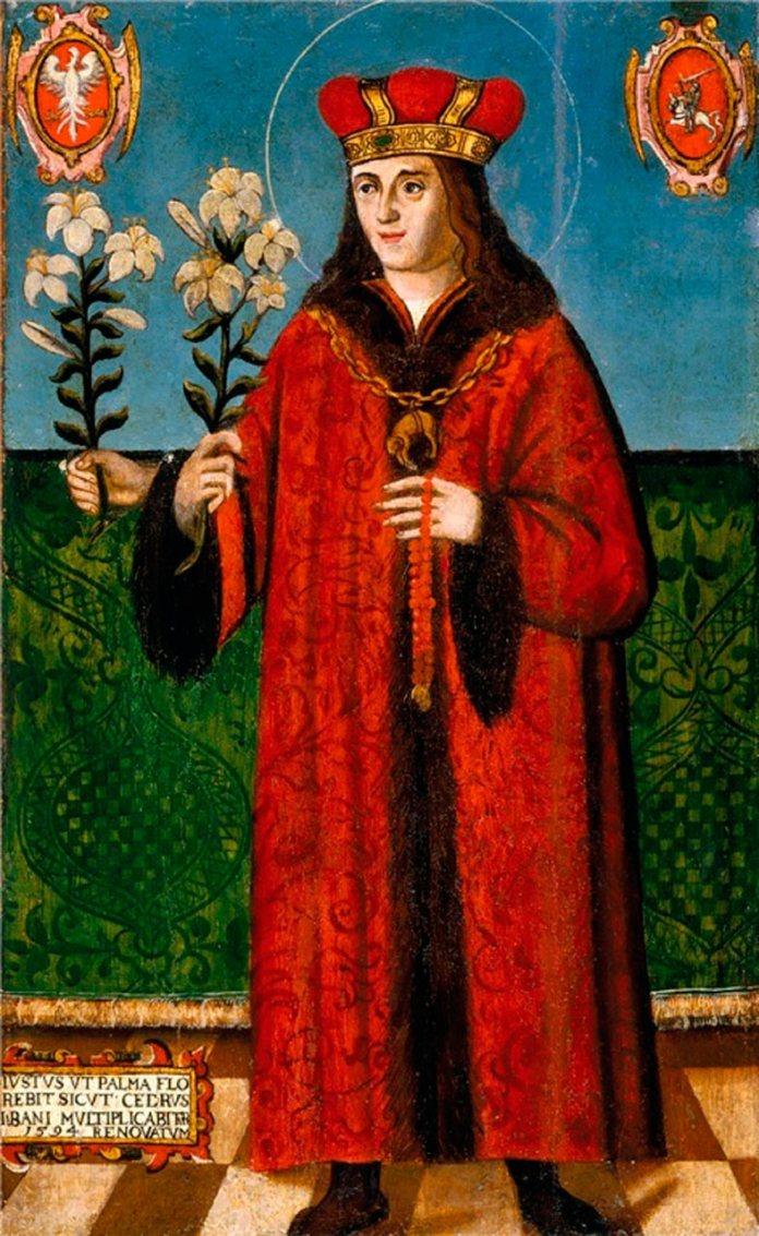 Святий Казимир, Казимир Ягеллончик (1458–1484), католицький святий, патрон Польщі і Литви.