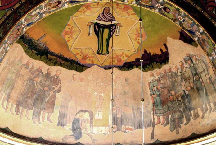 """""""Покрова"""" з каплиці у Жовкві. Фото з https://uk.wikipedia.org"""
