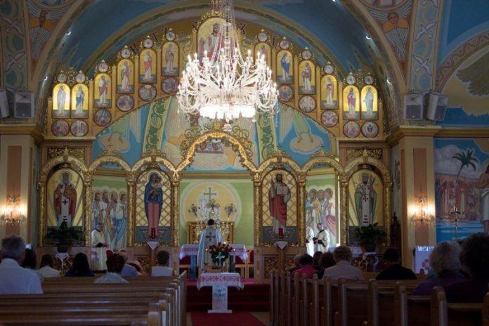 Храм св. Йосафата у Едмонтоні. Фото з https://kyrios.org.ua