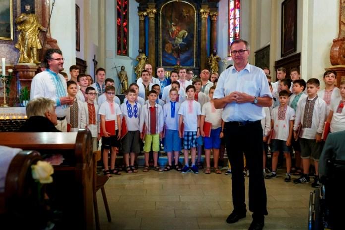 Хорова капела «Дударик» на гастролях у Австрії