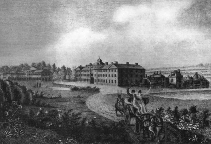 Завод парових машин, започаткований Уаттом.
