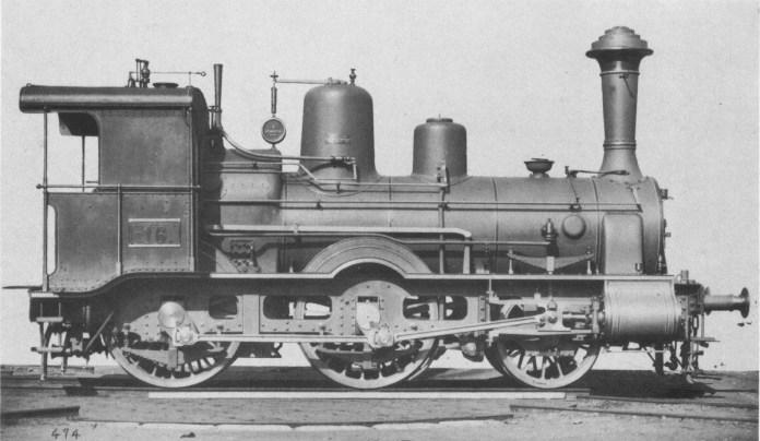 Швидкісний паровоз серії CLB IIg 16 Галицьких залізниць імені Карла Людвіга