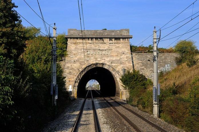 Тунель на Південній залізниці. Сучасне фото