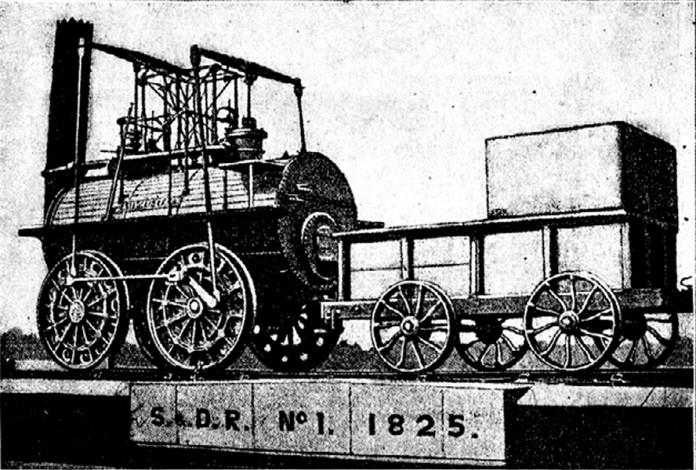 """Привід коліс паровоза """"Мілорд"""" 1815 р."""