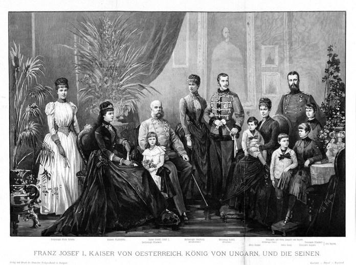 Сім'я імператора Австрійської імперії та короля Галичини і Володимирії Франца Йосифа І