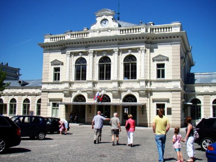 Вокзал у Перемишлі. Сучасне фото.