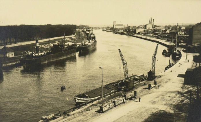 Порт у Гданську, 1931 рік