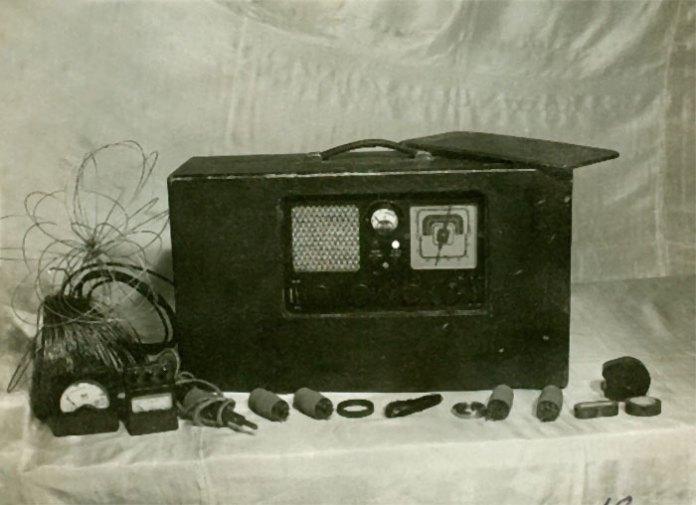 Радіо і деталі радіотехніки, вилучені радянськими спецслужбами з останньої криївки Романа Шухевича. Інші предмети, знайдені після смерті командира УПА,