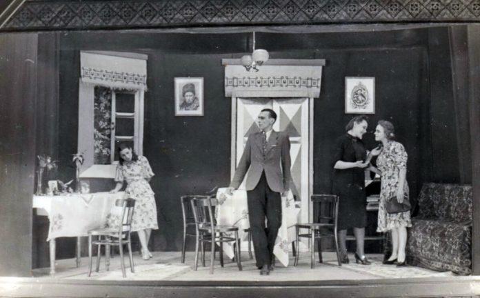 Грубешув, театр, 1930-і рр.