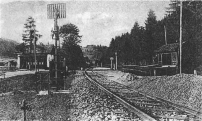 Станція у Тухлі. Початок ХХ ст.