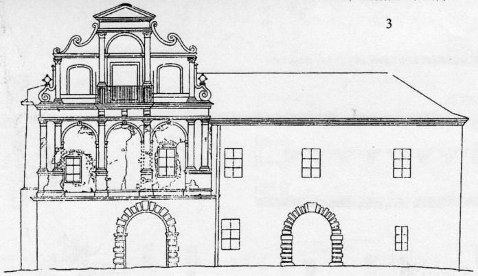 Креслення будинку королівського арсеналу станом на 1929 р.