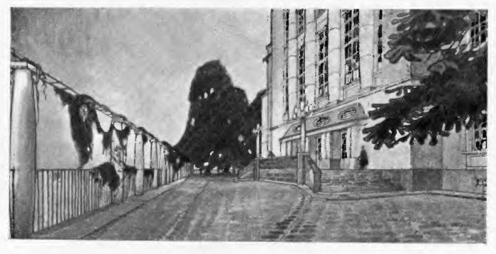 Проект нової будівлі львівського університету Антонія Будковського, 1913