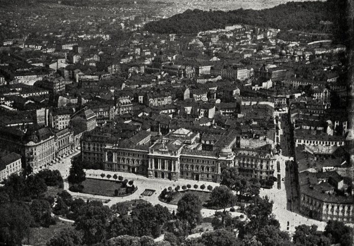 Університет Яна Казиміра, Львів. Фото 1938 року