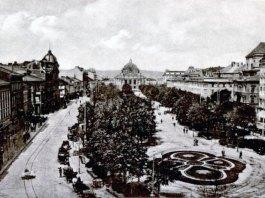 Львів. Гетьманські вали. Фото початку ХХ століття
