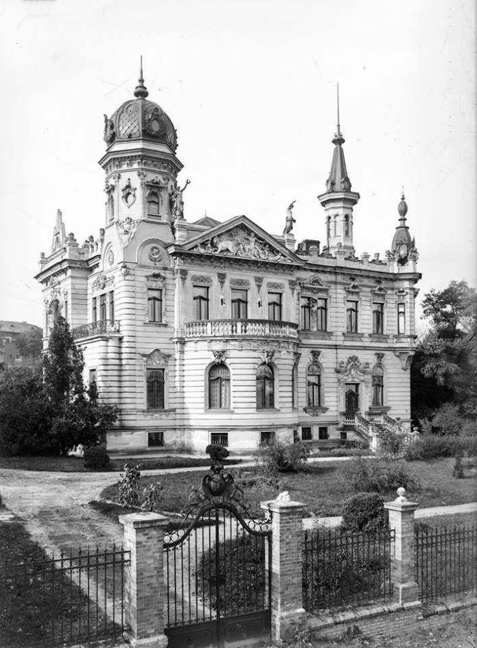 Національний музей у Львові, (сучасна вулиця Драгоманова, 42), фото початку ХХ століття