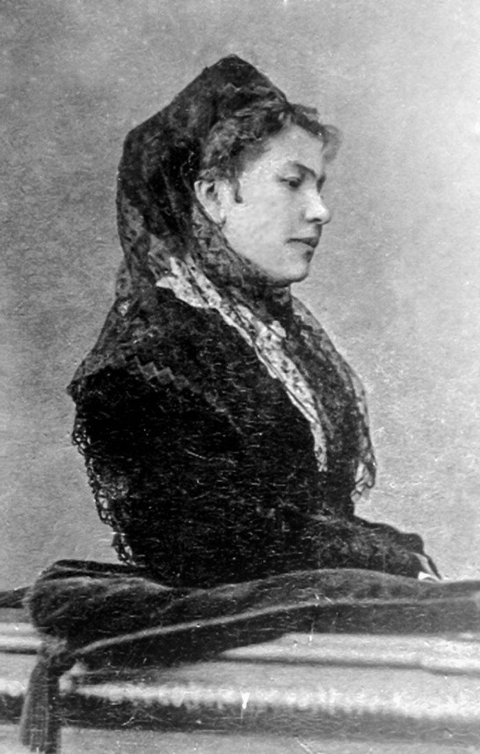Тітка Михася – Михайлина з Шептицьких графиня Коморовська (1835–1911). Фото з колекції фундації Роду Шептицьких