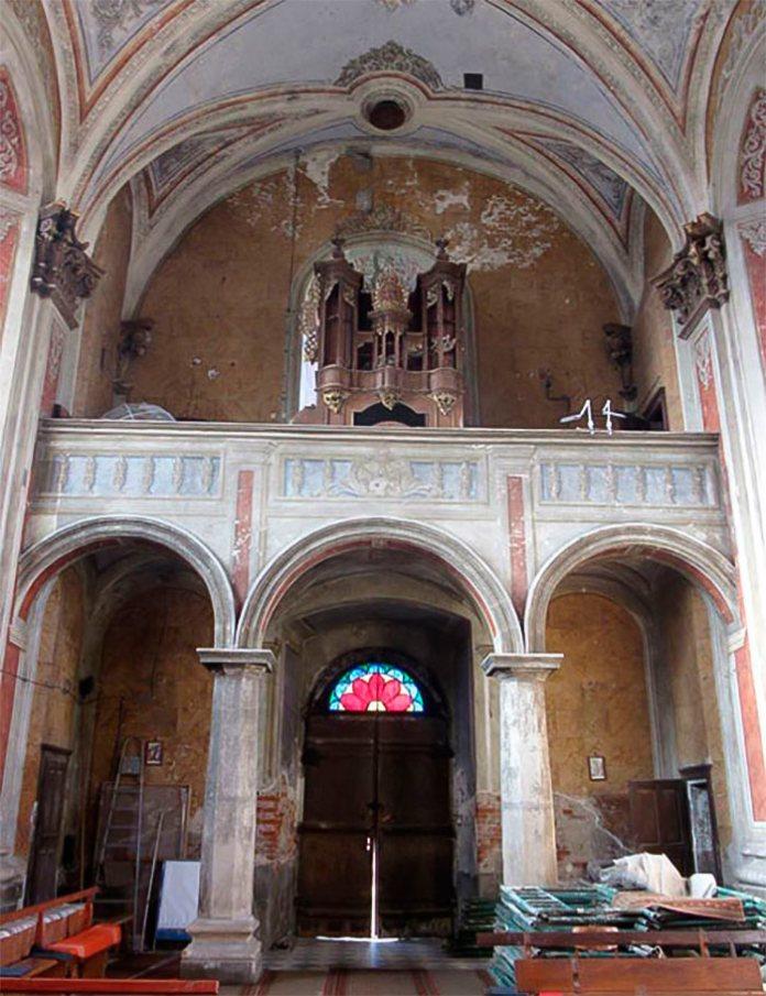 Хори костелу Різдва Пресвятої Богородиці в Комарно