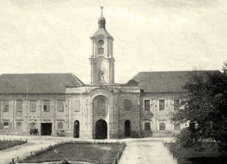 Палац Радзивіллів в Олиці, фото до 1939 року
