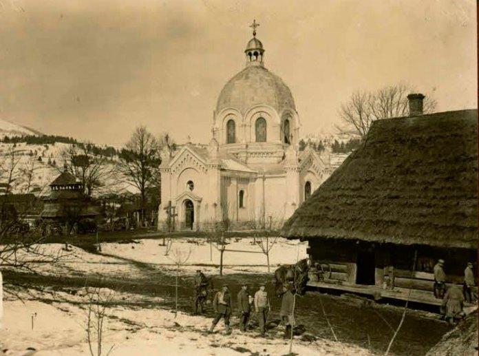 Славське часів Першої світової війни