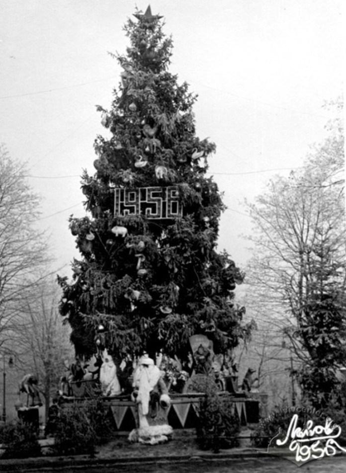 Головна ялинка міста, 1956 р.