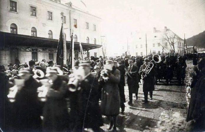 Процесія у Львові, 1930-ті рр.
