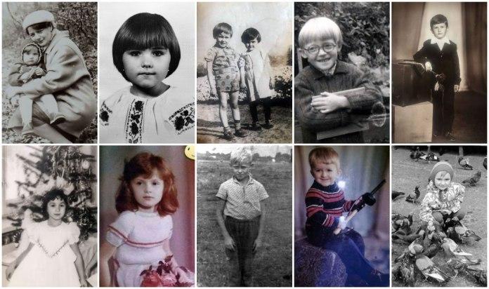 Відомі львів'яни в дитинстві на фото і у спогадах