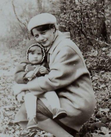 Галинка Лірник з мамою, 1988 рік