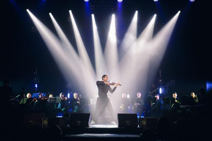 Олександр Божик на концерті