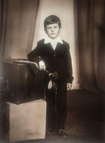 Віктор Винник в дитинстві