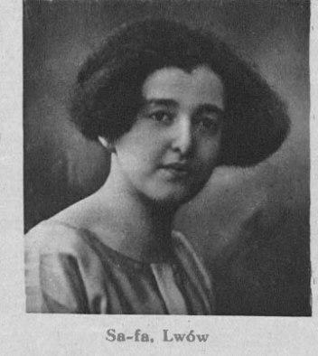 """Учасниця """"Турніру краси"""" 1926 року за версією видання «Gazeta poranna»"""