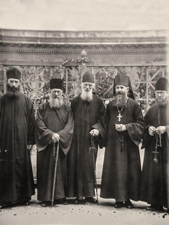 Отець Климентій з духовенством у Римі. 1939 р.