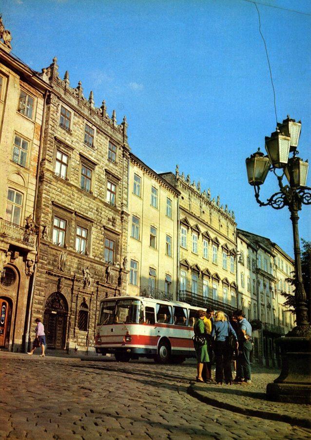 Площа Ринок, 1984 р.