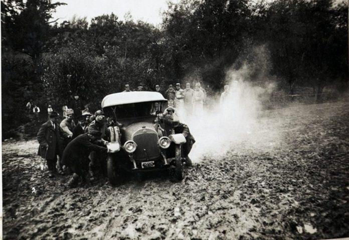 Дороги в Галичині 100 років тому
