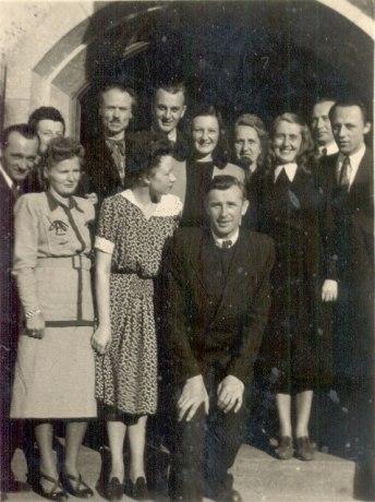 Іван Кейван серед українських культурних діячів у Міттенвальді, 1940-і рр.