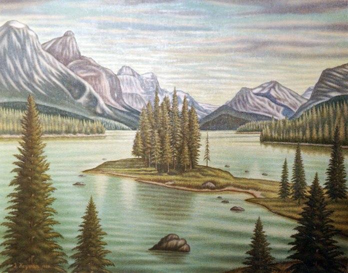 Іван Кейван. Озеро Малін, Альберта. Едмонтон, 1968
