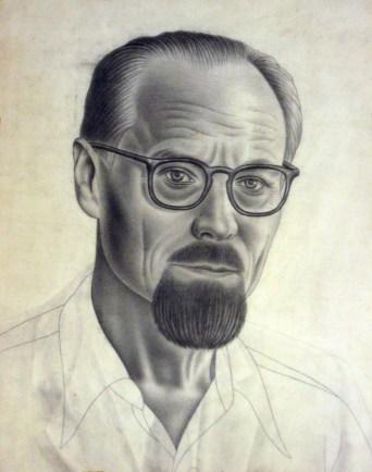 Іван Кейван. Автопортрет. Едмонтон, 1977