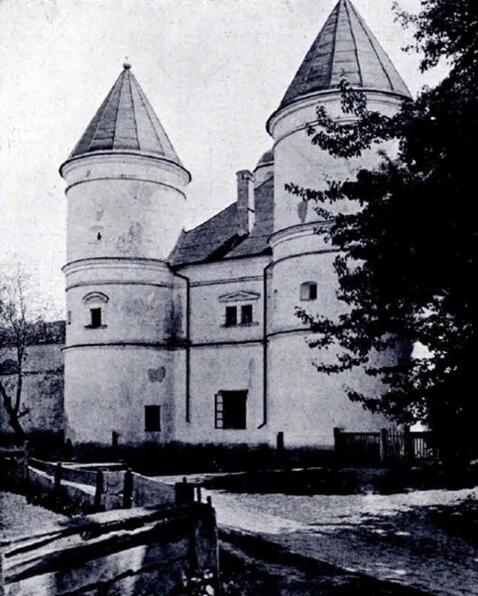 Будівля монастиря, 1935 рік