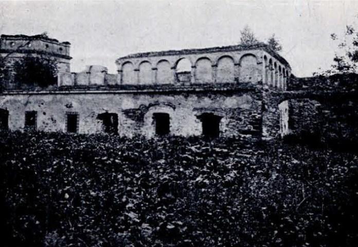 Будівля монастиря, Межиріч, 1935 рік