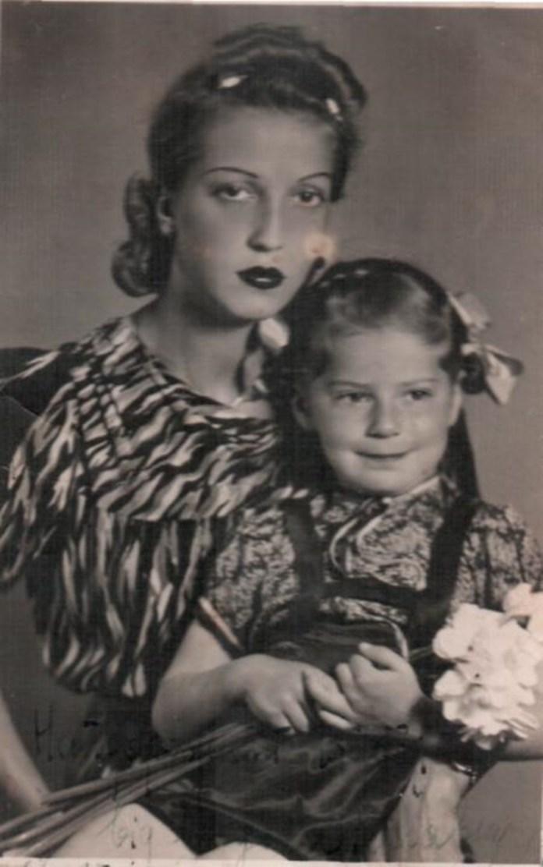 Тамара Вишневська-Мікош з донькою Ірен