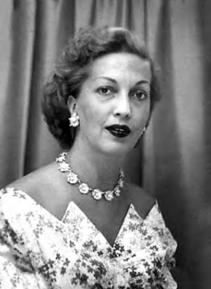 Тамара Вишневська 1950-і роки