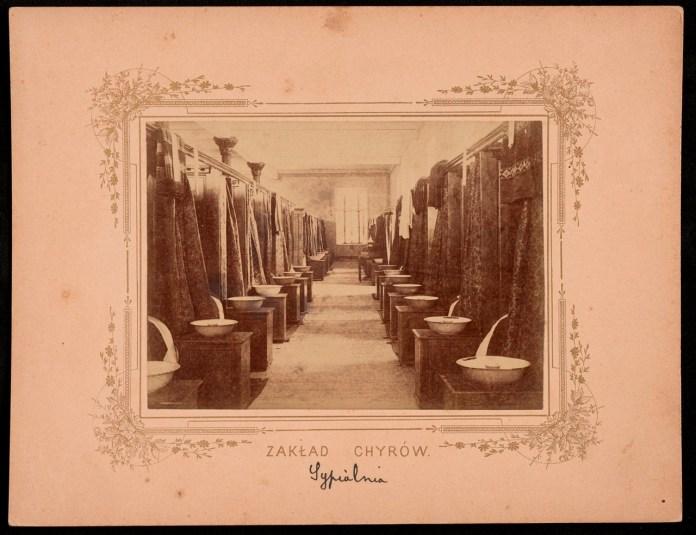Колегія єзуїтів у Хирові. Купальня, 1899 р.