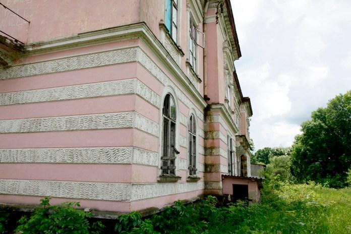 Палац Бадені в Буську, 2019 р.