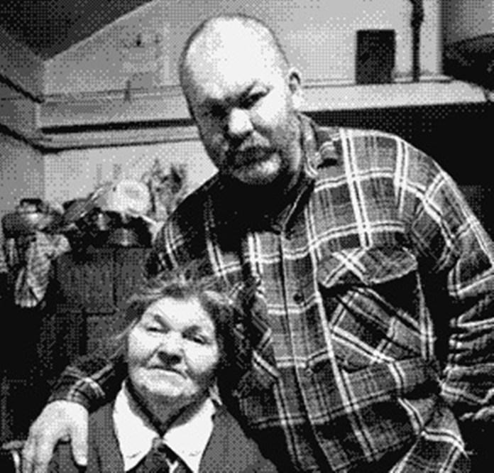 Мирослав Ягода з мамою
