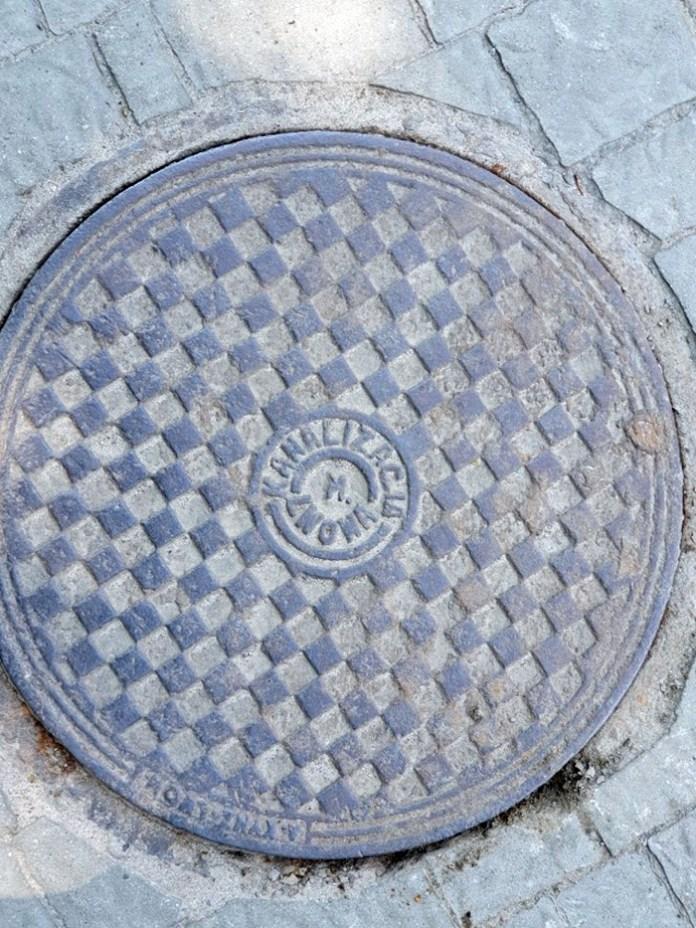 Польський каналізаційний люк
