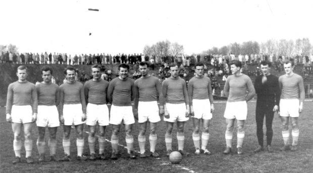 """""""П'яст"""" у 1959 році. Фото з http://piast.gliwice.pl"""